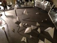 Gnomons, floor detail