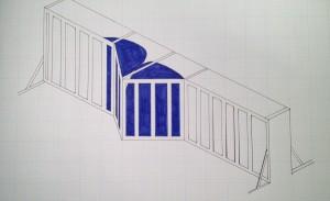 preliminary sketch for stroke